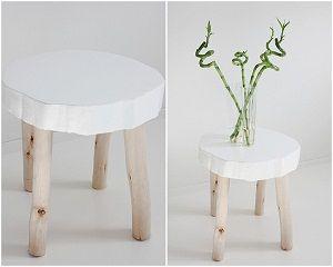 Muebles con troncos de madera buscar con google wood - Muebles con troncos ...