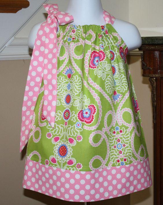 baby girl Pillowcase dress