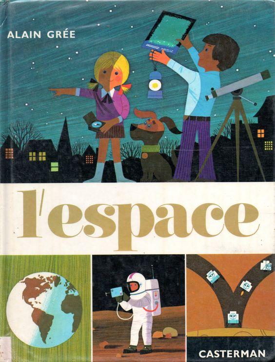 """""""l'espace"""" alain grée 1972:"""