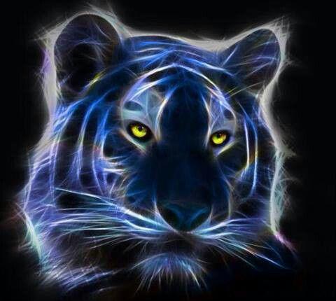 Glow-in-the Dark Tiger | 0 WildLife | Pinterest | Glow ...
