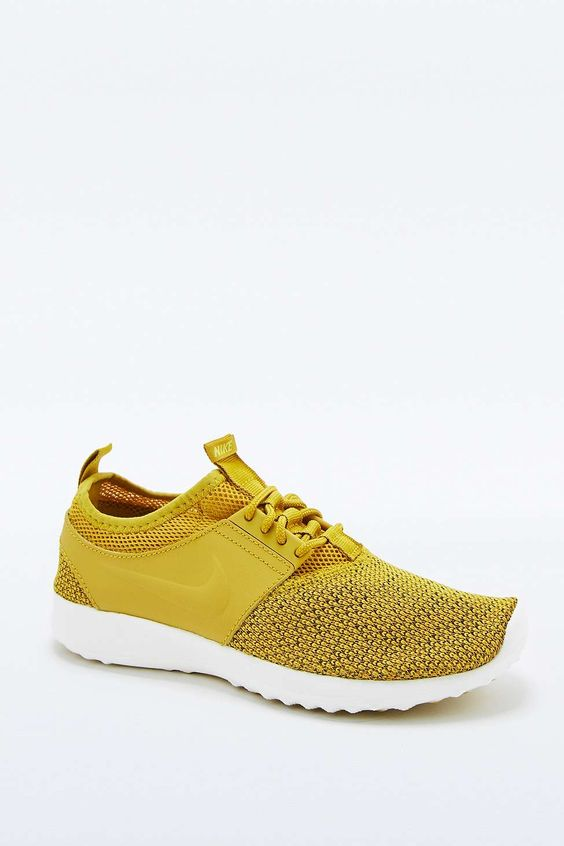 nike air max plus 2012 - I am Obsessed with these trainers - Nike Juvenate Mustard Trainers ...