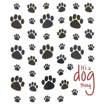 Dog Paws Stickers