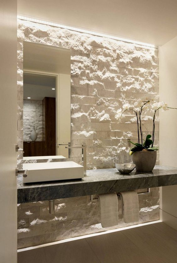 The Most Interesting About Having A Modern Bathroom Is On Its Simplicity Without Losing Its Modern Bathroom Modern Bathroom Decor Modern Master Bathroom Design