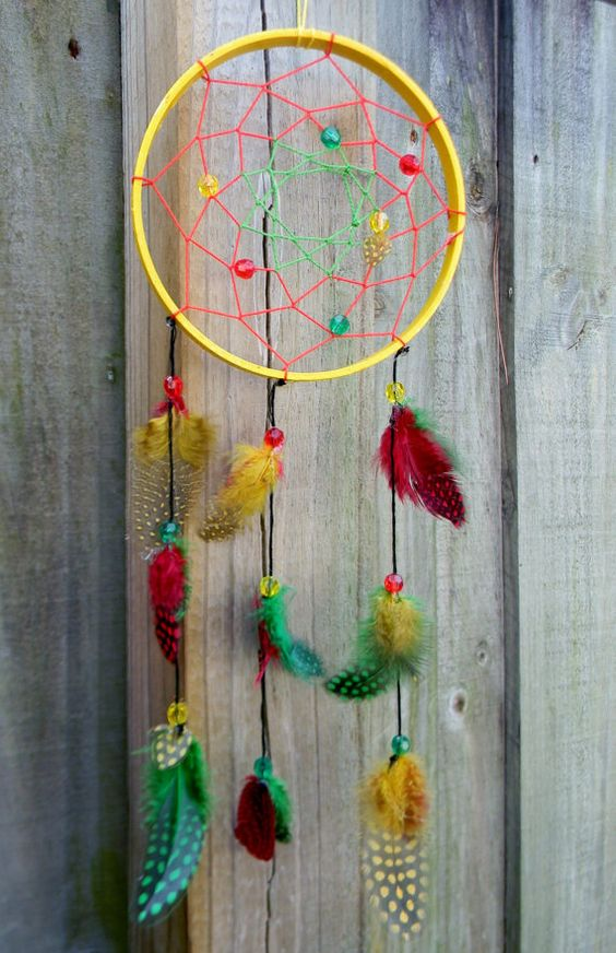 double dream catcher instructions