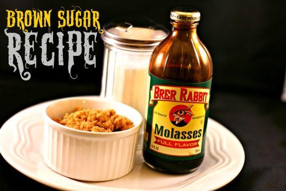 Brown Sugar recipe- DIY Brown Sugar