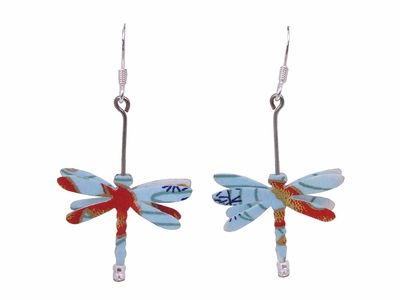 have these and love them- oragami dragonfly earings