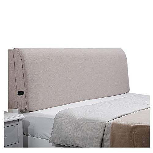 Wenzhe Headboard Bedside Cushion Pads Cover Bed Wedges Backrest