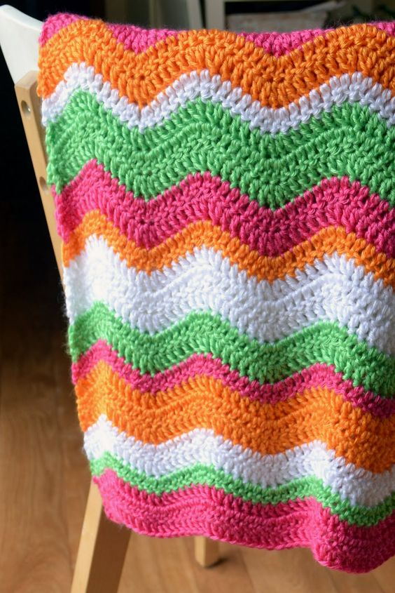 Baby Ripple Pattern ~Crochet in Color