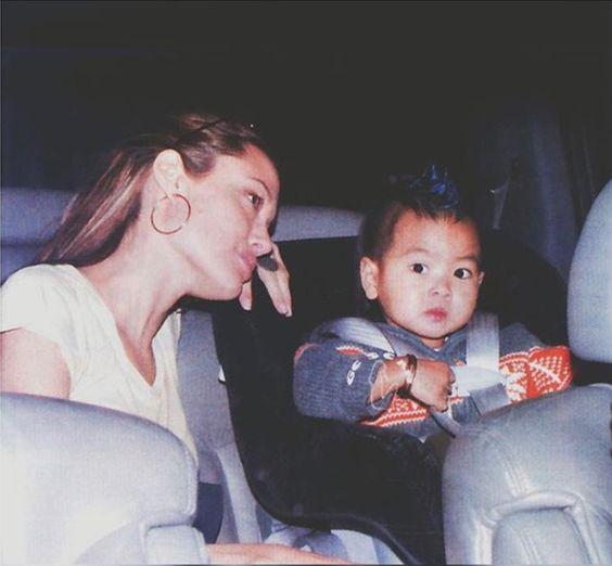 Angelina Jolie and Maddox Jolie-Pitt