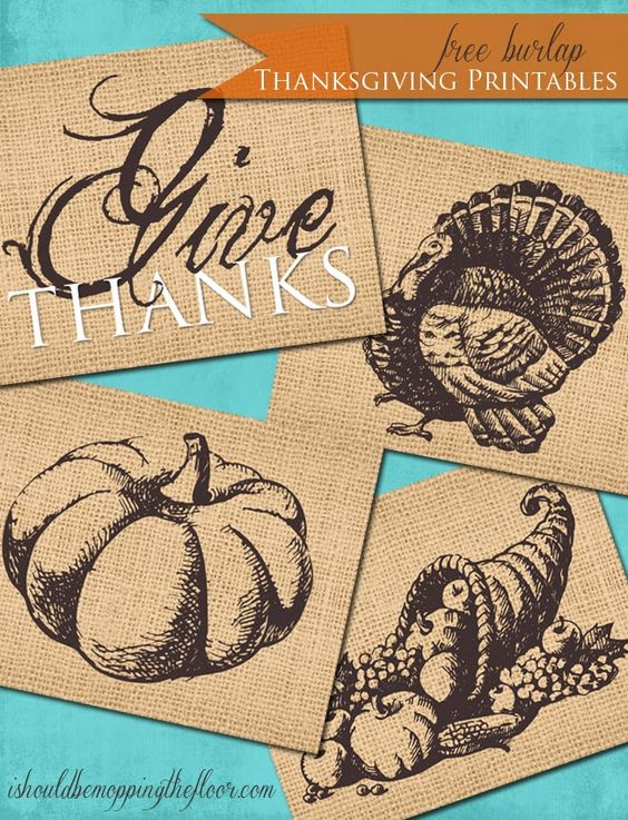 Thanksgiving give thanks printables decor creative for Give the floor