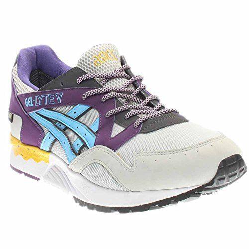 Infantil Surtido Temporizador  Asics Tiger Men Gel-Lyte V (gray / soft grey / light blue... https://www. amazon.com/dp/B00RM8AMC4/ref=cm_sw_r_pi_dp_U_x_LQ…   Sneakers fashion, Asics,  Asics sneaker