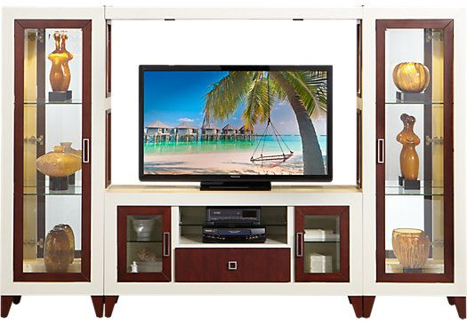 Sofia Vergara Savona 4 Pc Wall Unit 149999 108W X 175D 725H Find Affordable Units For Your Home That Will Complement The Rest Of You