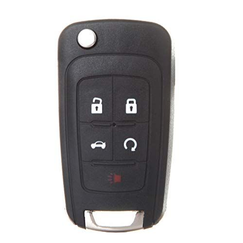 Eccpp Replacement Fit For Uncut Keyless Entry Remote Flip Key Fob Chevy Jeep Dodge Chrysler Buick Oht01060512 Pack Of 1 Dodge Chrysler Jeep Dodge Chrysler
