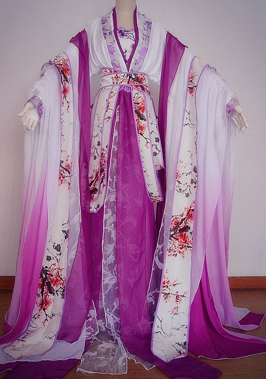 Asian Chinese Royal Imperial Princess Hanfu Costume Clothing Oriental Dress and Hair Accessories Complete Set for Men Boys Adults Children