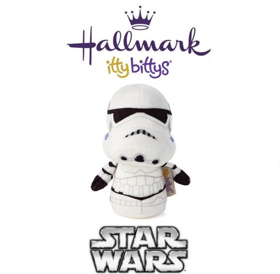 Hallmark ITTY BITTYS ●● Star Wars STORMTROOPER ●● Itty Bitty Limited Edition!