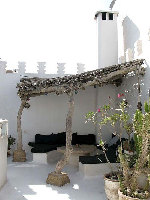Comment se créer une belle terrasse à l'ombre cet été ? | www.decocrush.fr - @decocrush: