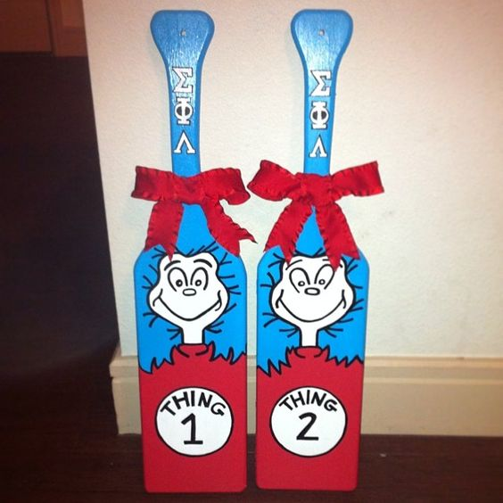 sorority paddles for twins twin gifts sorority sorority paddle ideas