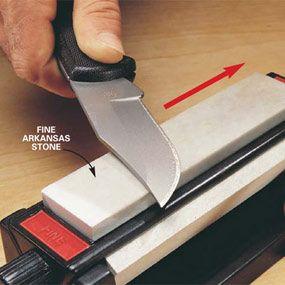 How to sharpen knives & scissos