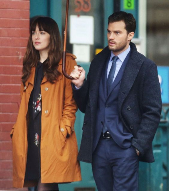 Dakota Johnson & Jamie Dornan. Fifty shades darker
