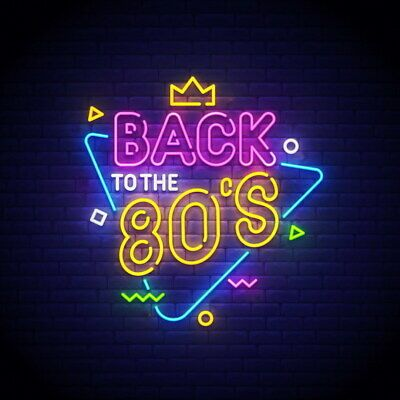 AOOS CUSTOM Back to the 80s Dimmable LED Neon Light Signs For Wall Decor #fashion #home #garden #homedcor #plaquessigns (ebay link)