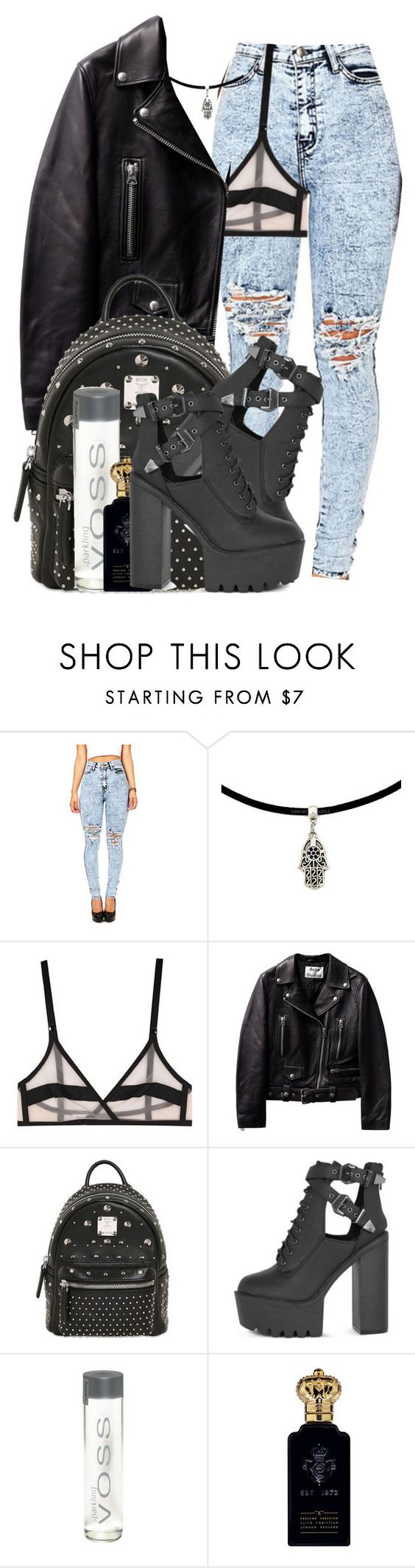 """Untitled #486"" by g-life ❤ liked on Polyvore featuring Yasmine eslami, MCM and Clive Christian"