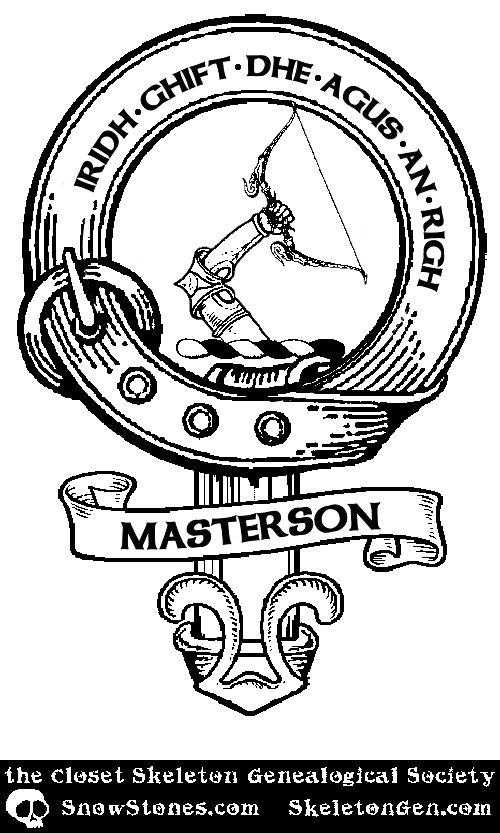 #ClosetSkellies Surname: Masterson