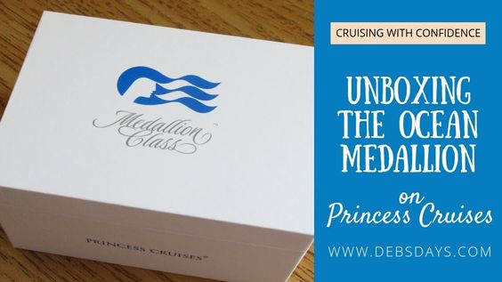 Unboxing The Ocean Medallion From Princess Cruises Medallionclass Ships Princess Cruises Cruise Ocean