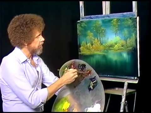 an analysis of the speech of bob ross Bob ross wasn't just a skilled artist—he was unrivaled in his ability to spout verbal poetry faster than it took to paint one of those happy little clouds here are some of his best bits of .