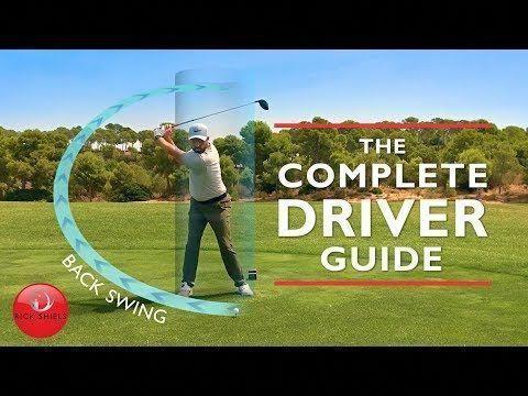 Driver Backswing The Complete Driver Golf Swing Guide Powertipsforwomen Golfswing Golfswingtips Choosinggolfequipment Golf Drivers Golf Swing Golf Videos