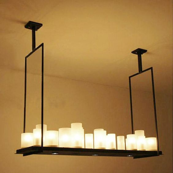 french country rectangular chandelier - Google Search