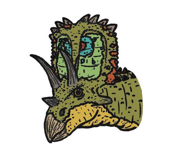 Anchiceratops_3843.JPG (1027×929) - Dinosauria, Ornithischia, Marginocephalia, Ceratopsia, Ceratopsidae, Ceratopsinae. Auteur : Conty.