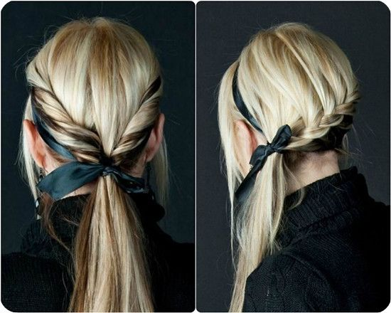 Fantastic Ponytail Hairstyles Low Ponytails And Hairstyles For Girls On Short Hairstyles Gunalazisus
