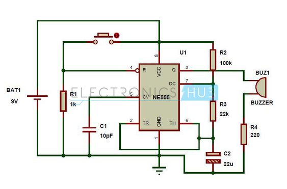 panic alarm circuit diagram working and applications circuit diagram the o jays and