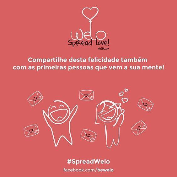 Já conhece nosso aplicativo para enviar cartões de amor? ❤️ Não? Então corre na nossa página do facebook (facebook.com/Bewelo), clica na aba 'Spread Love' e envie lindos cartões de amor gratuitamente. Vamos distribuir amor nesse face! ❤️ link para acesso via celular: www.bewelo.com/facebook  #welo #welove #spreadwelo #spreadlove #amor #love #bewelo