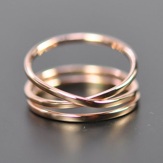 Rose Gold Infinity Plus One