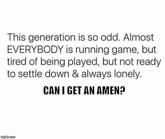 Amen!! It is sad
