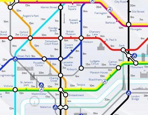 Estações De Metro Londres Mapa.Mapas Do Transporte Com Pontos Turisticos Mapa Subterraneo