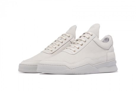 Filling Pieces Ghost Grey Low Top Trainer - Trouva