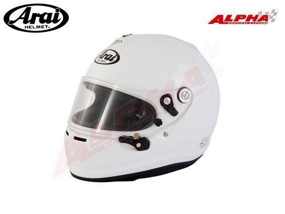 CASQUE ARAI GP6 S BLANC Casques [A005]   ARAI de Alpha Karting