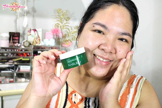 My face setelah mengaplikasikan Tea Tree Gelly Naruko