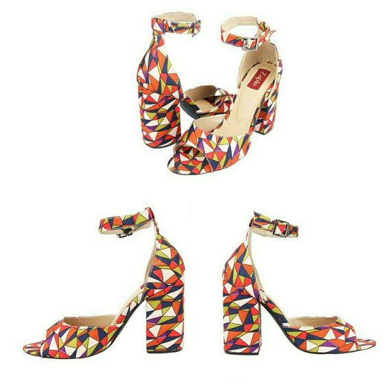 These multi-color heels can give anyone some major fashion goals. Right?  Check out more at www.zaple.in and you can also customize your footwear. #heels #allcolors #multicolor #fashiongoals #ownyourstyle #ladies #womensfashion #womenswear #heelsaddict #designyourshoes #customization #handmade #fashion #trendy #voguish #sotd #shoestagram #shoesoftheday #shoegame #shoegameonpoint #getreadyladies
