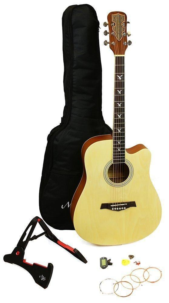 Martin Smith Premium Guitar Package Natural Matt Finish Martin Smith Guitar Smith