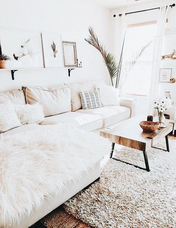 Crisp And Clean White Living Room From Isla Livingroominspo