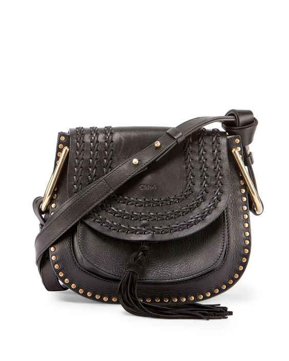 replica chloe kathleen black calfskin leather large shoulder bag