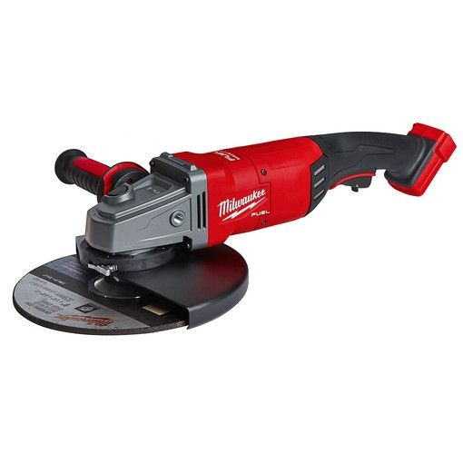Milwaukee 2785 20 M18 Fuel 7 In 9 In Large Angle Grinder Tool Only Angle Grinder Milwaukee Tools Tools