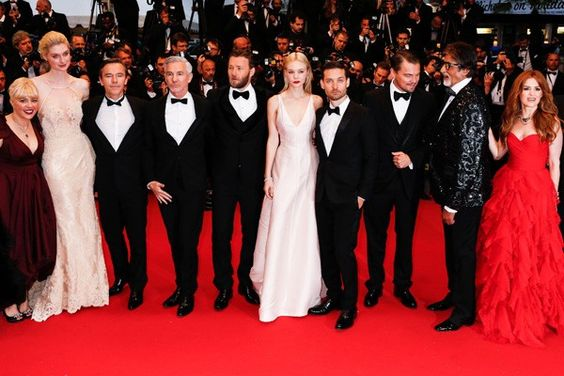The Great Gatsby cast at premiere