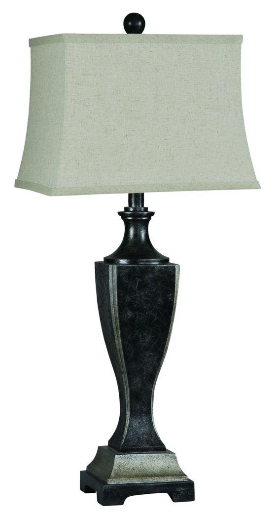 Ren-Wil Samba Table Lamp, Beige & Tan