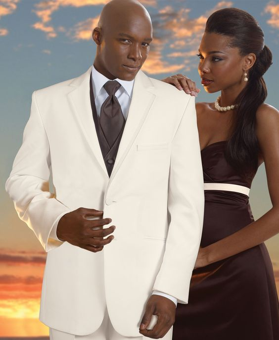 Ivory Tuxedos For Weddings | ivory connery by red sleeve comfort blend 2 button ivory shown with ...
