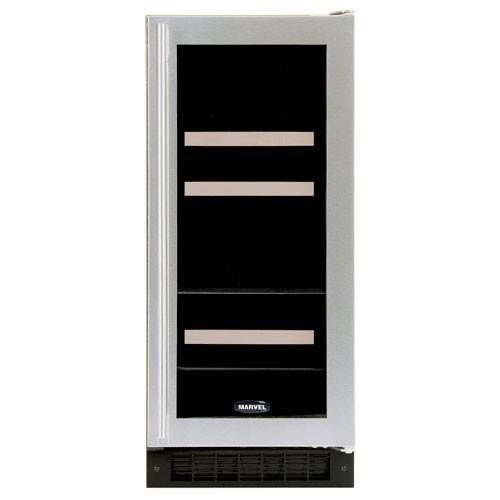"""Infinity Wine Coolers: The Marvel 15"""" Width Beverage And Wine Fridge (3BARMBSG"""