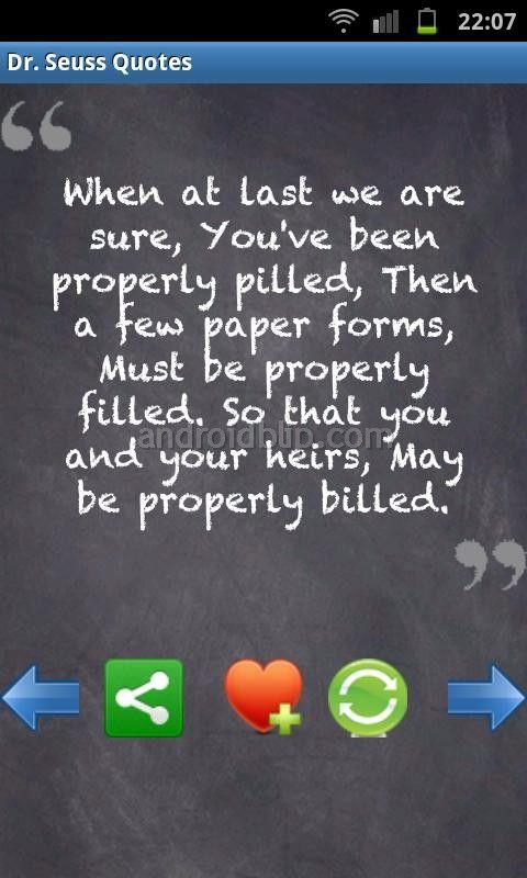Screenshots: Best Dr. Seuss Quotes!
